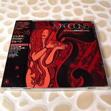 Maroon 5 - Songs About Jane JAPAN CD+Bonus Track W/OBI Mint #103-2*
