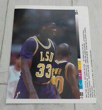 304) Shaquille O 'Neil Louisiana State University foto impresión de prensa de baloncesto