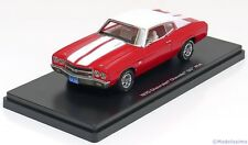 1:43 Ertl/Auto World Chevrolet Chevelle SS454 1970 red/white