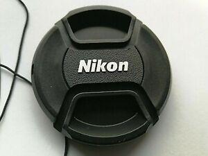 LC-77mm Objektivdeckel für Nikon AF Kamera Objektive lens cap Frontkappe