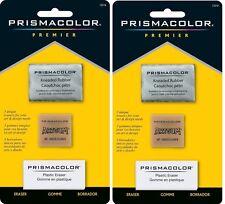 2 Packs - Sanford Prismacolor Premier Art Erasers Value Pack - 3 Styles in Each