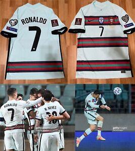 Cristiano Ronaldo Match Issue Nike Portugal Vapor Match Away Jersey WC Qualifier