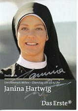Autogramm - Janina Hartwig (Um Himmels Willen)