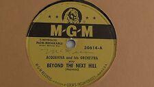 Acquaviva – 78rpm 10-inch single – MGM #30614