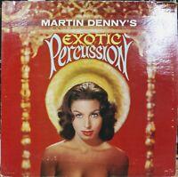Martin Denny's Exotic Percussion, Audition Record Vinyl lp, Liberty Records