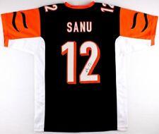 Mohamed Sanu Signed Cincinnati Bengals Jersey (JSA COA) Falcons Wide  Receiver 6c677859e