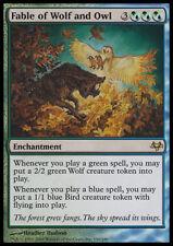 MTG FABLE OF WOLF AND OWL EXC - FAVOLA DEL LUPO E DEL GUFO - EVN - MAGIC