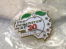 Vintage Peachtree At 30 Race Crew  Enameled Souvenir Collector Pin,  new in Bag