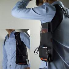 Anti-Theft Pouch Hidden Underarm Holster Phone Card Case Wallet Shoulder Bag W
