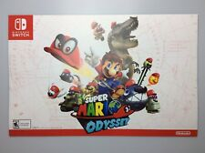 New Super Mario Odyssey Poster Best Buy Limited 11x17  Free Shipping US Nintendo