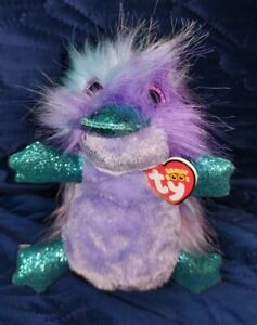 TY BEANIE BOOs - ZAPPY the platypus - 19cm tall - various available