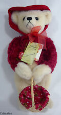 "Hermann Renate Schmidt Limited Edition Mohair 13"" Teddy Bear Stuffed Animal"