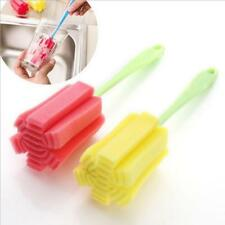 3PC Kitchen Cleaning Tool Sponge Brush For Wineglass Bottle Coffe Tea Glass Cup