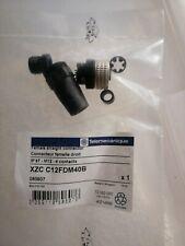 Schneider / Telemecanique XZCC12FDM40B CONNECTEUR NU Femelle M12 4 BROCHES neuf