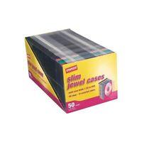 Staples 5mm Slim Jewel Cases 50/Pack 445567