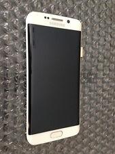 Brand New Samsung Galaxy S6 Edge G925 G925A LCD Screen Digitizer Frame - White