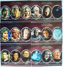 Star Trek Voyager Heroes & Villains Trading Card Aliens Chase Set
