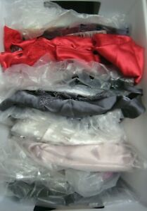 New Victoria's Secret Slips. Satin, Modal, Lace, Red, Antique Rose, Bk  X-Small
