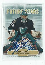 Alex Stalock Signed 2009/10 Between The Pipes Card #2