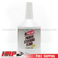Red Line Synthetic Power Steering Fluid (1 Quart) Red-30404