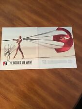Courtney force ESPN the Magazine body issue autographed
