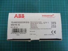 1 x ABB Motorschutzschalter MS225; 1SA M15 1000 R0007; 1,6-2,5A