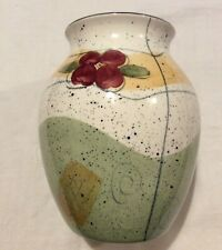 Poole Pottery Hand Painted Vase