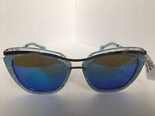 New Polarized Gianfranco Ferré GF Ferre GFF 1105 002 Blue Women's Sunglasses