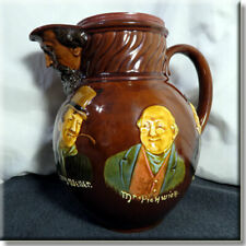 RARE Vintage Royal Doulton Kingsware Dickens Pitcher / Jug a/f