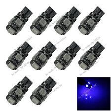 10X Blue 5 SDM 5050 LED T10 W5W Side Light Car Bulb Lamp Canbus Error Free 20065