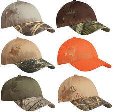New Hunting Hat Cap Deer Elk Duck Pheasant Bass Realtree Max4 Advantage Wetlands