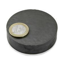 Super Magnete Disco in Ferrite dimensione 60 x 15 mm Potenza 4,9 Kg.