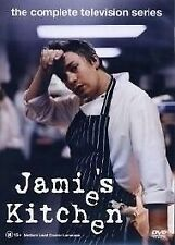 DVD - JAMIE'S KITCHEN - COMPLETE TV SERIES - JAMIE OLIVER - COOKING FOOD - REG 4