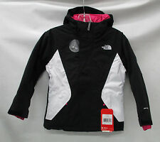 North Face Girls/Kids Kira Triclimate Jacket A2TMA TNF Black Size Large