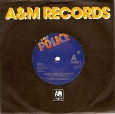 THE POLICE De Do Do Do, De Da Da Da Vinyl 7 Inch Dutch A&M AMS 7578 1980 EX