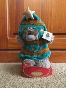 "~ME TO YOU~ Tatty Teddy ~ "" X-mas Tree "" Bear ~ Christmas ~ 6 inch ~ Brand New~"