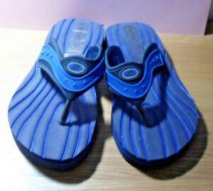 Primark  Mens Blue Flip Flops UK Size 8-9 New