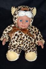"""15"""" Leopard Halloween Costume doll Sugar Loaf Kostume Kids Hard To Find"""