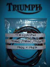 Triumph 500cc 650cc T100C TR6C T120TT ET Cablaggio Telaio 1966-1967
