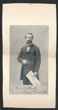 1860's HENRY CHADWICK Father of Baseball Vintage Photo (Rookie Card)
