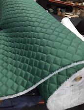 QUILTED FABRIC SEA GREEN 4oz Waterproof Outdoor Material Dress Clothing Jackets
