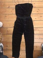 Zara Velvet Suit 2 Piece Size 10