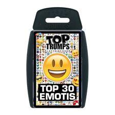 Emotis Top Trumps Card Game