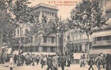 A.T.V. 54 BARCELONA SPAIN LLANO DE LA BOQUERIA POSTCARD (c. 1910)