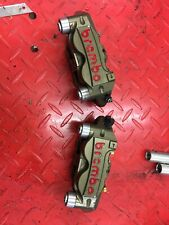 BREMBO RACE CNC BILLET 108MM RADIAL CAPLIPERS  MONO BLOCK PAIR  WSBK  MOTOGP