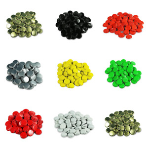 Crown Caps/Metal Tops (26mm) For Capping Homebrew Beer Bottles Various Colours