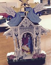 Shelia'S Town Square Nativity 1St Edition 1997 - Signed (Ofc07L)