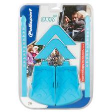 POLISPORT GUPPY MINI CHILD SEAT STYLE KIT, ARM & FOOT REST + STRAPS LIGHT BLUE