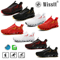Mens Fashion Sports Shoes Mesh Athletic Running Lightweight Resilience Sneakers