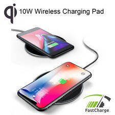 Wireless Fast Charging Pad for Apple iPhone 8/8+/X, Samsung, HTC, Huawei (10W)